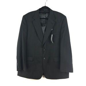 Bert Pulitzer Men's Sz 48 R Black Blazer Sportcoat